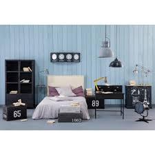 vitrine im industrial stil aus metall b 100 cm schwarz maisons du monde