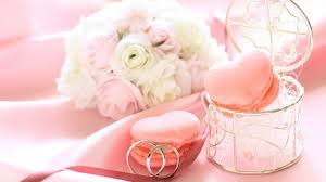Pink Cookies For Wedding Wallpapers And Images