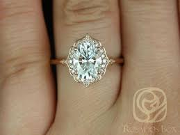 Simple Vintage Style Engagement Rings