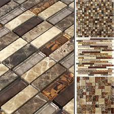 mt0087 mosaik fliesen matte aus gebürstetem edelstahl und