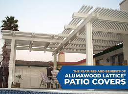 Patio Covers Boise Id by Features And Benefits Of Alumawood Lattice Patio Covers