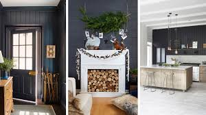Best Paint Color For Living Room by 15 Black Shiplap Ideas How To Style The Black Shiplap Trend
