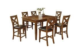 Lidia Pub Table + 6 Stools
