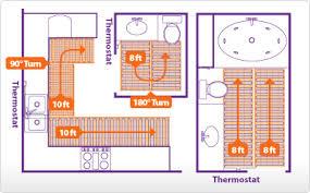 suntouch heated floor systems suntouch radiant electric heated
