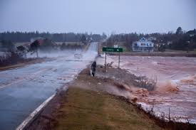 Sinking Islands Global Warming by Rising Sea Levels Leaving Canadian Coastal Real Estate Vulnerable