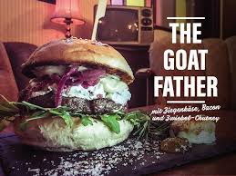 oh my goat burger of the week the wohnzimmer konstanz