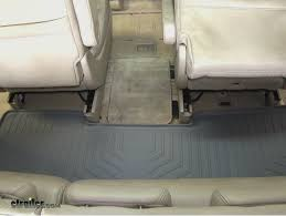 Honda Odyssey All Weather Floor Mats 2016 by Weathertech Third Row Floor Liner Review 2006 Honda Odyssey
