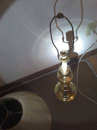Underwriters Laboratories Portable Lamp Brass by 3 Portable Lamps Rental House Car U0026 Lost Dog