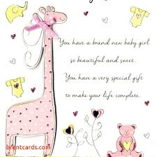 Messages To Write In A Wedding Card New Baby Girl Congratulations Greeting Cards