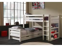 lits superposés séparables tic tac en angle couchage 90x200 cm