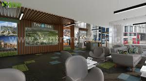 100 Architectural Design Office ArtStation Innovative 3D Interior By Yantram 3D