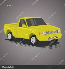 100 Small Pickup Truck Modern Small Pickup Truck Vector Illustration Stock Vector