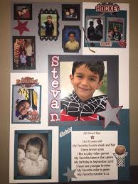 All About Me Poster Board For School Project Made With The Help Of
