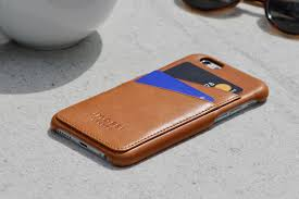 Leather Iphone 6 s Wallet Phone Case Tan imossi london