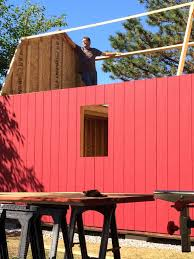 Free 12x16 Gambrel Shed Material List by 12 16 Tall Barn Style Gambrel Roof Shed Plans