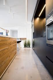 moderne offene küche mit estrich boden betonboden küche