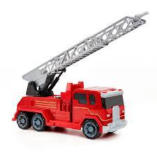 100 Fire Trucks Toys Lights Sound Truck