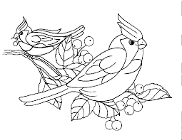 Bird Coloring Sheets 5