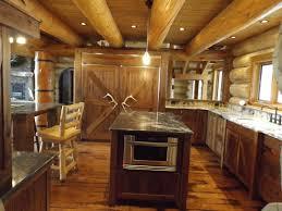 Log Cabin Kitchen Images by Custom Log Cabin Kitchen And Bath Fine Homebuilding