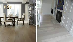 Left Oak Wood Floors And Prefinished From Carlisle Wide Plank Right