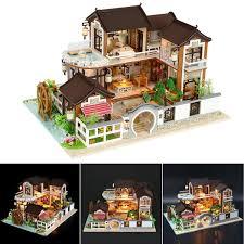 Diy Handcraft Miniature Doll House Kit My Little Boys Dollhouse