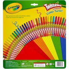 Crayola Bathtub Crayons Collection by Crayola Twistable Crayons And Construction Paper Walmart Com
