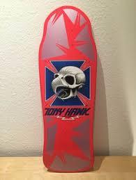 Powell Peralta Tony Hawk Skateboard Decks by Powell Peralta Steve Caballero Reissue First Color Set