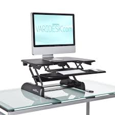 Monitor Shelf For Desk by Healthiest Way To Work Standing Vs Sitting And Everything Between