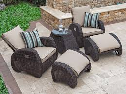 Outdoor/Patio Bora Bora Sangria Aluminum & Outdoor Wicker 5 Pc ... Red Barrel Studio Dierdre Outdoor Wicker Swivel Club Patio Chair Cosco Malmo 4piece Brown Resin Cversation Set With Crosley Fniture St Augustine 3 Piece Seating Hampton Bay Amusing Chairs Cushions Pcs Pe Rattan Cushion Table Garden Steel Outdoor Seat Cushions For Your Riviera 4 Piece Matt4 Jaetees Spring Haven Allweather Amazoncom Festnight Ding Of 2