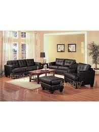 100 Living Room Table Modern UKACHI Furniture Set 321 Leather Sofa Set