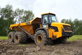 100 Articulating Truck Yellow JCB 722 Articulated Dump Stock Photo Picture And