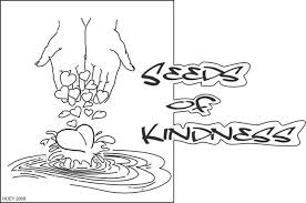 Showing Kindness To Others Coloring Pages