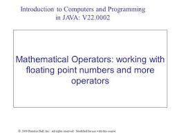 1 math methods that return values 2 java s math class ppt download