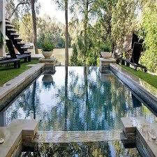 silver mosaic pool tiles design ideas
