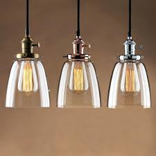 vintage pendant lights industrial style metal l shades for home