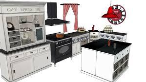 comptoir de cuisine maison du monde comptoir des épices cuisine en l ilot maisons du monde 3d warehouse