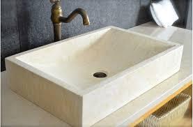vasque naturelle torrence en marbre d égypte 60x40