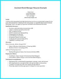 Sample Resume Retail Bank Manager Operations Sales Branch Cover