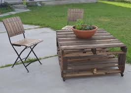Coffee Table Diy Pallet Patio Table Part Ideas Coffee Outdoor With