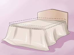 Bed Skirt Pins by How To Make A Bed Skirt 12 Steps With Pictures Wikihow