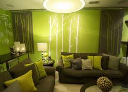 Living Room Interior Design Ideas Uk by Green Living Room Ideas Lime Sofa With Sage Walls And Brown Dark