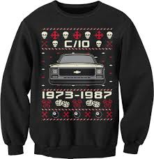 1973-1987 Chevy C10 - SQUARE BODY - Christmas Sweater Style Sweat ... North River Apparel Car Shirts And Stuff News Tagged 1950 Chevy Truck Shirt Killfab Clothing Co Category Chevrolet Tshirts Dale Enhardt Store 1946 Chevy Truck T Labzada Shirt Colorado Road Warrior Mens Dark Tshirt Best Womens Tuckn Hot Rod Classic Custom Vintage Ratrod Ford Mopar Gasser Girl Lauren Goss Patriotic American Lifestyle Apparel Made In The Usa Live Hossrodscom Weathered Bowtie Girls Youth