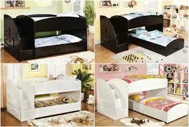Low Bunkbeds Merrick Low Bunk Bed Wstairs Kids Furniture In Los