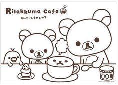 Rilakkuma Coloring Book Kawaii Cinnamoroll Sanrio Japan Memo Pads On Pages Images Books