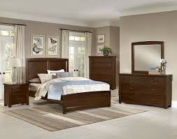 Vaughan Bassett Dresser With Mirror by Transitions Collection Transitions Br Col Bedroom Groups