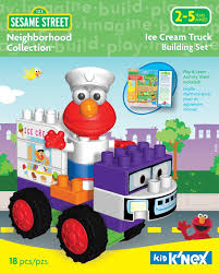 100 Ice Cream Truck Products Sesame Street Neighborhood Collection 18 Pieces To