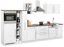 held möbel küchenzeile samos ohne e geräte breite 350 cm