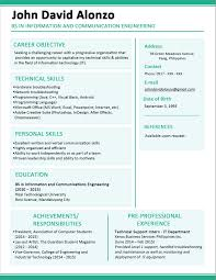 Best Cv Samples For Fresh Graduates Template Engineering Of Resume Sample Malaysia Format Practical Therefore