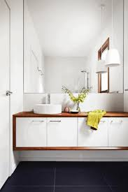creative small bathrooms oval white porcelain sink white hanging