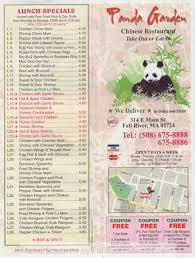 Panda Garden Fall River Restaurants